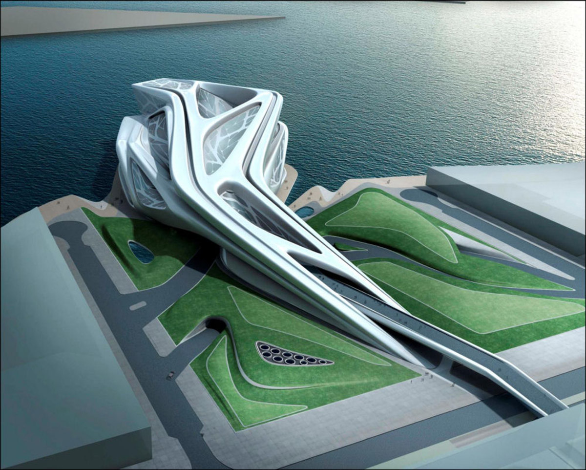 Zaha Hadid | Performing Arts Center | Abu Dhabi 2007