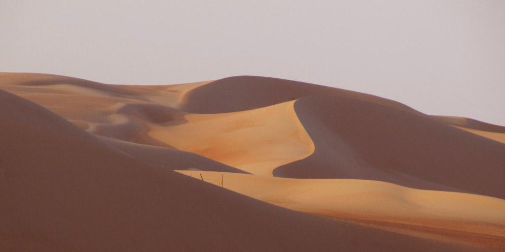 LIWA dunes bu Dhabi