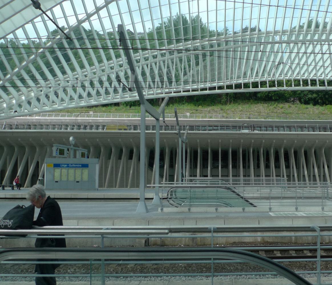 Calatrava | TGV Station Liege-Guillemin | 2009