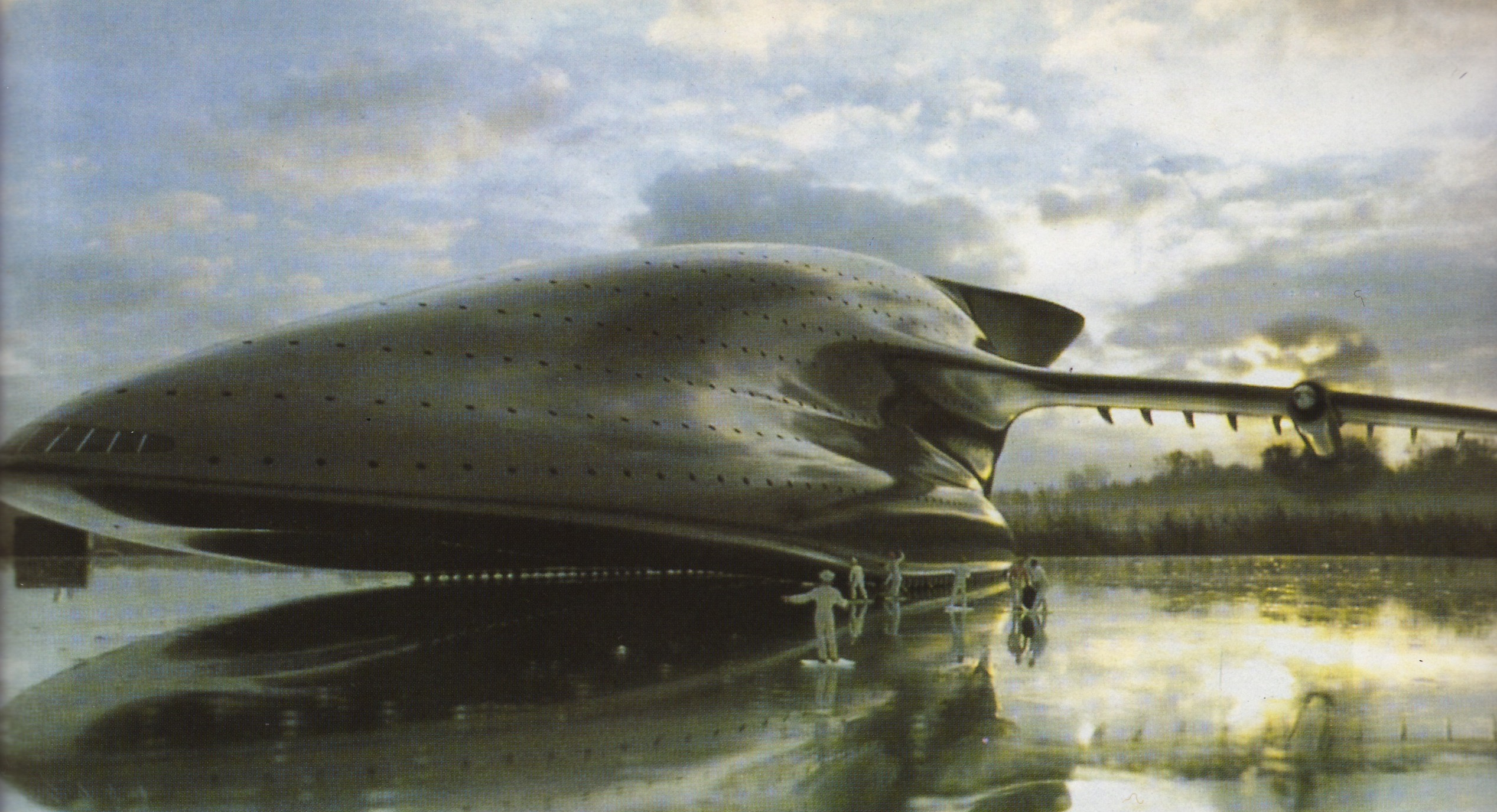 Luigi Colani | Jumbo carrier | 1978