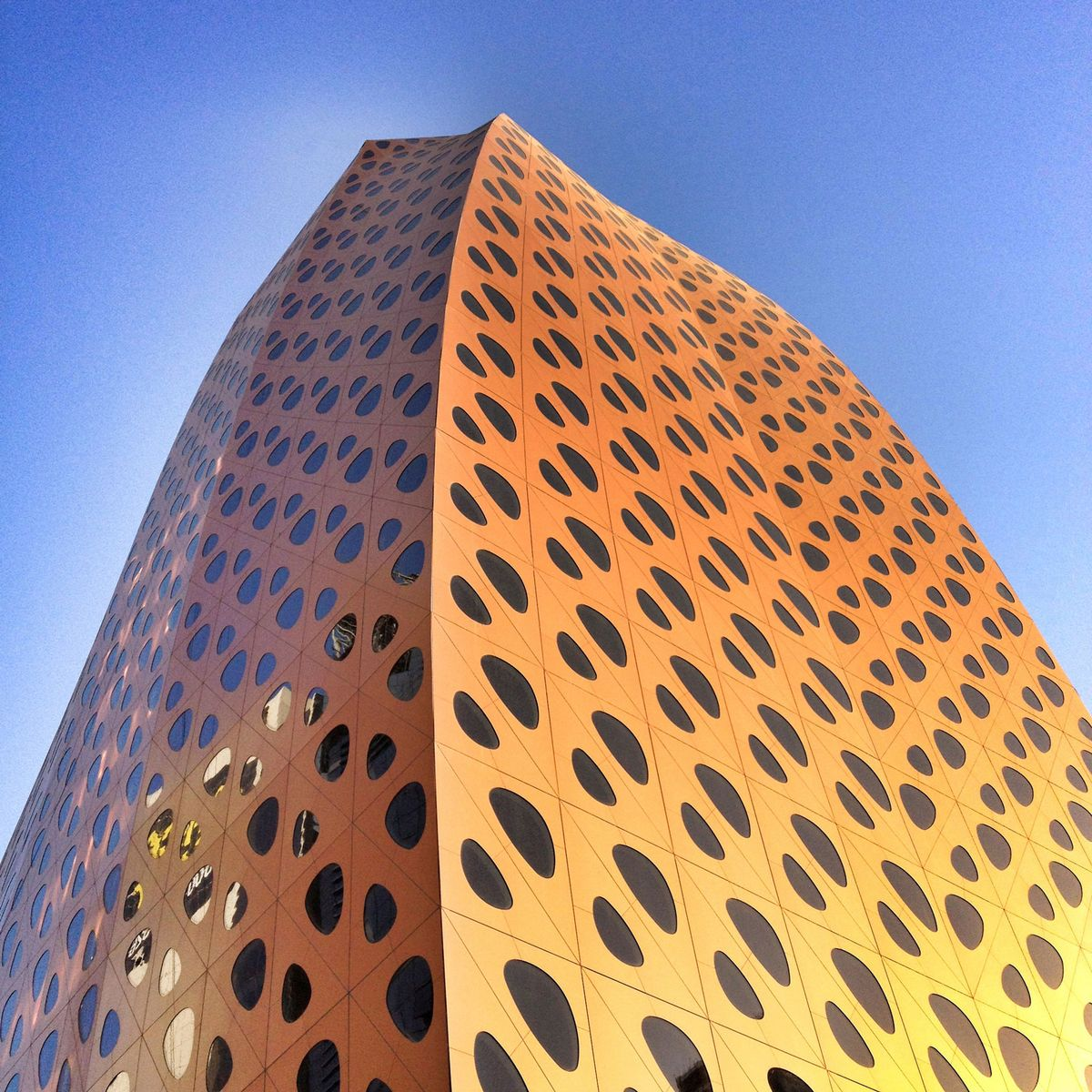 parametric GFA structure and skin | LIWA tower | ONL 2014