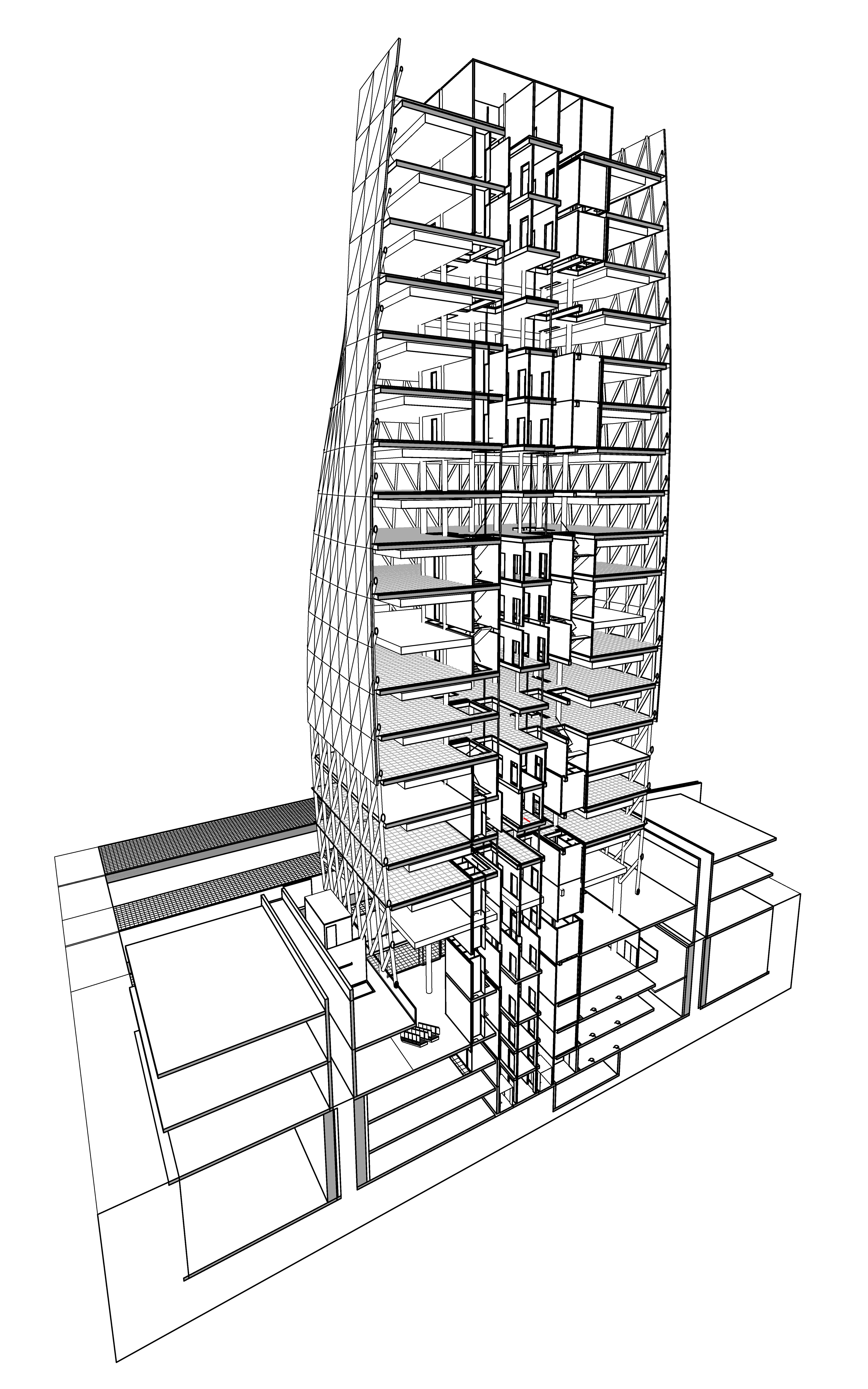 LIWA tower | design Kas Oosterhuis / VAA.ONL | completed 2013 Abu Dhabi