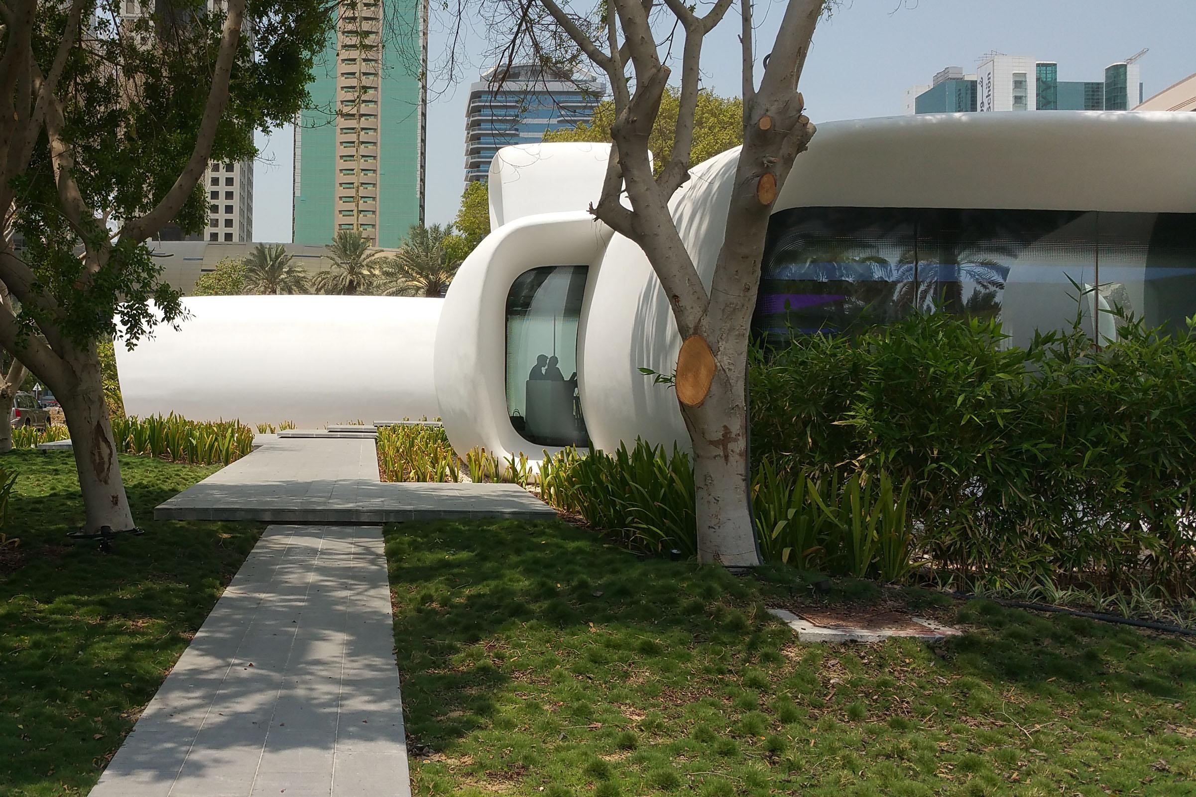 3d printed office Dubai | design Killa architects | 2016