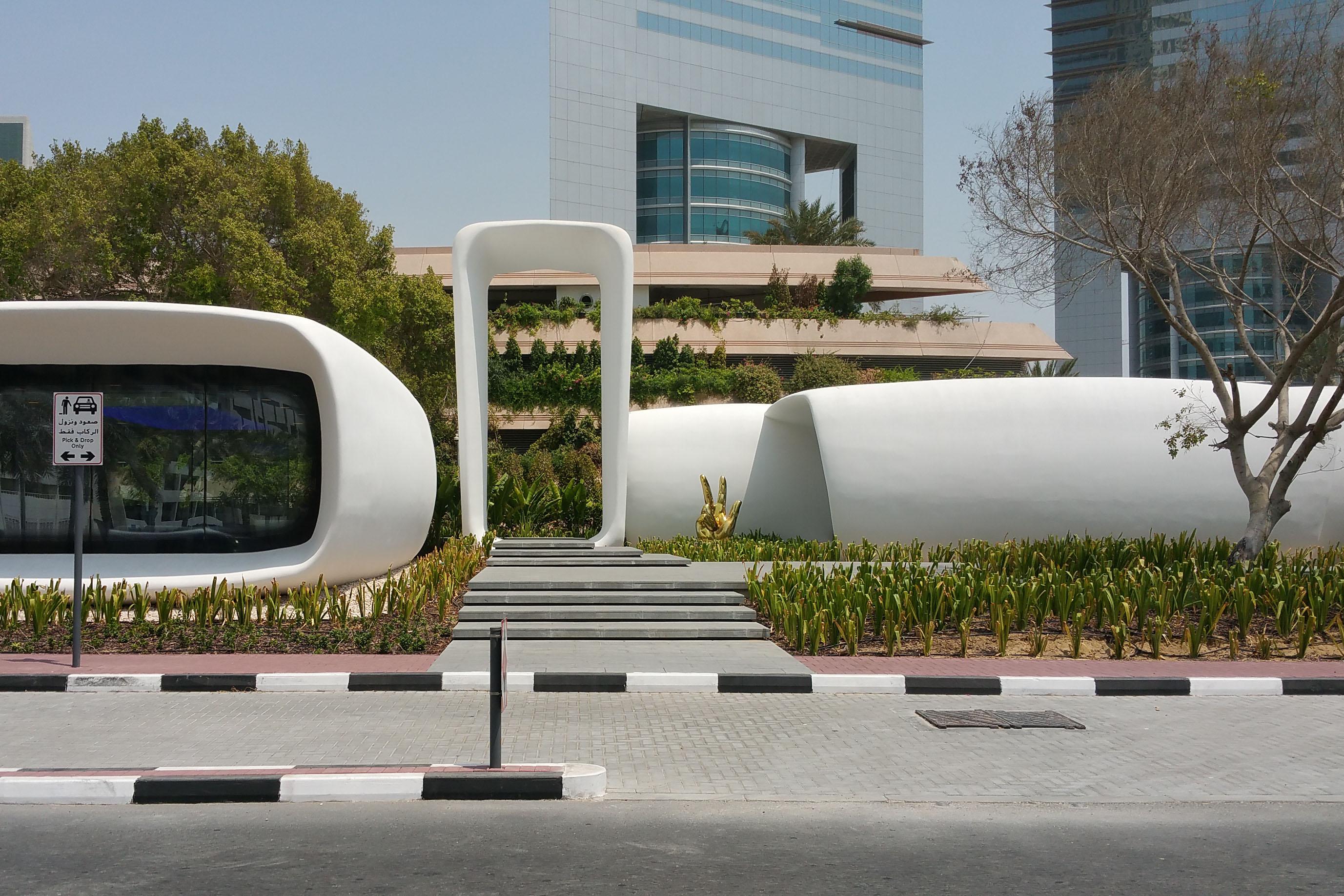 3d printed office Dubai | design Killa Architects| 2016